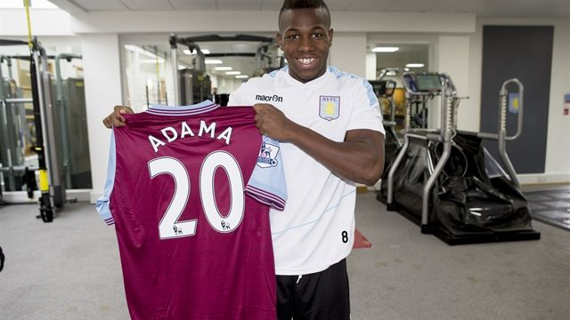 Adama Traore Squad Number Confirmed News Aston Villa Football Club Avfc