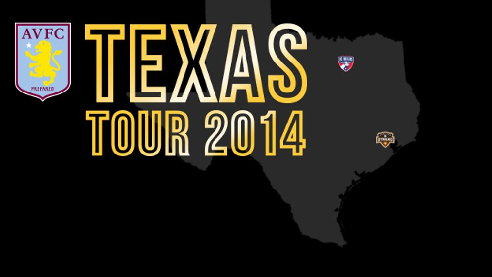 Usa Tour 2014 Guide Pre Season Trip To Dallas And Houston News Aston Villa Football Club Avfc